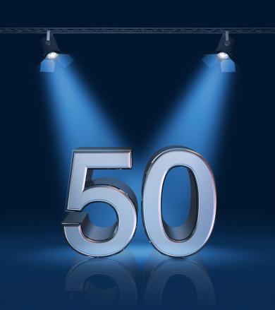記念日「50 周年」:スマホ壁紙(14)