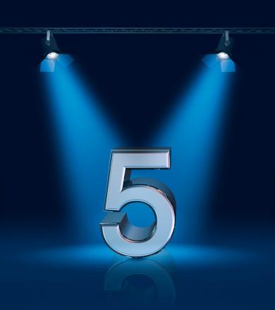 記念日「5 周年」:スマホ壁紙(5)