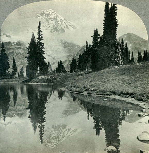 Physical Geography「Mt Rainier From Mirror Lake」:写真・画像(10)[壁紙.com]