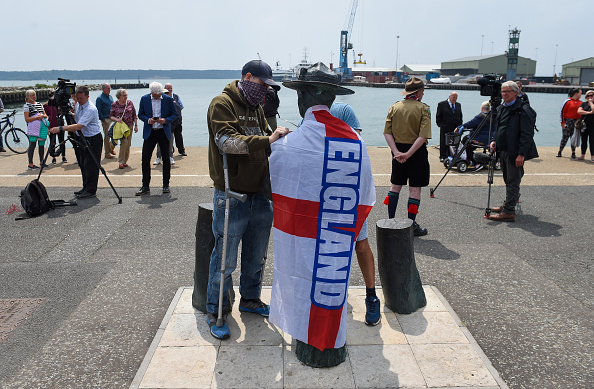 Finnbarr Webster「Baden-Powell Statue Due To Be Removed From Poole Quay」:写真・画像(0)[壁紙.com]