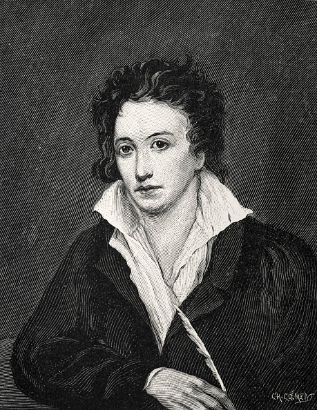 Percy Bysshe Shelley「Percy Bysshe Shelley, after portrait by Miss Curran. English Poet」:写真・画像(18)[壁紙.com]