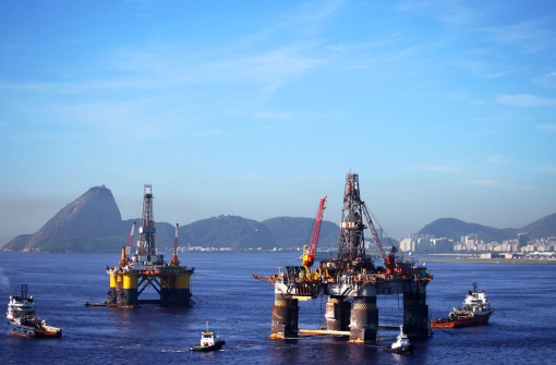 Borehole「Oil offshore platforms in Rio de Janeiro」:スマホ壁紙(11)