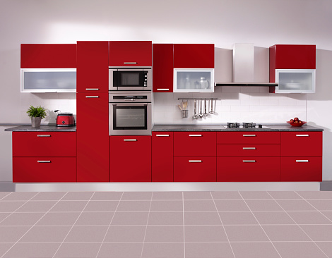 Red「空のキッチン」:スマホ壁紙(13)