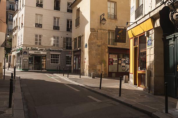 Paris, St Germain de Pres, street scene:スマホ壁紙(壁紙.com)