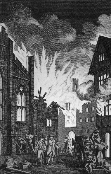 Engraved Image「Great Fire Of London」:写真・画像(14)[壁紙.com]