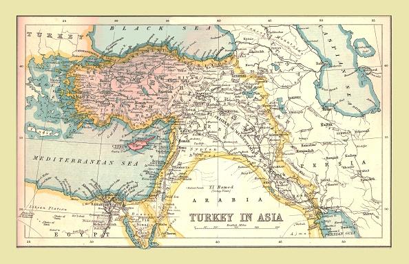 Mediterranean Sea「Map Of Turkey In Asia」:写真・画像(19)[壁紙.com]