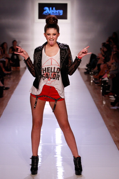 Leather Jacket「Abbey Dawn By Avril Lavigne - Runway - Spring 2013 Style360」:写真・画像(5)[壁紙.com]