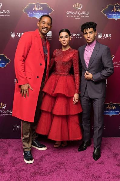 "Aladdin - 2019 Film「Stars Of Disney's Live-action ""Aladdin"" Return To Jordan As Part Of The Film's Magic Carpet World Tour - VIP Screening」:写真・画像(6)[壁紙.com]"