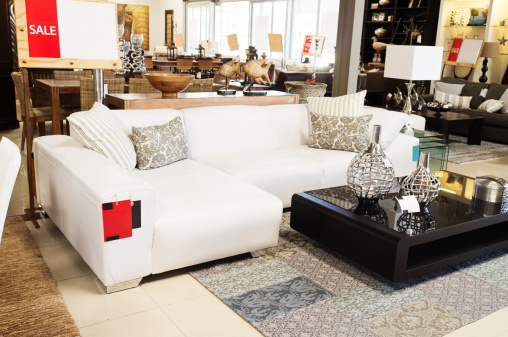 Knick Knack「Couch on sale at upmarket home decor outlet」:スマホ壁紙(4)