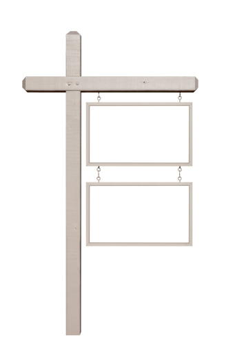 Wooden Post「Sign Post with Blank Signs」:スマホ壁紙(2)