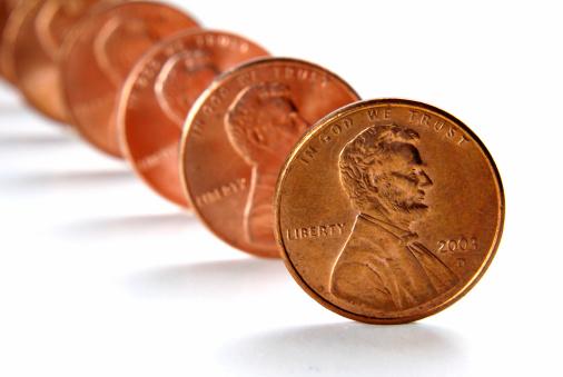 米国硬貨「列のペニー」:スマホ壁紙(0)