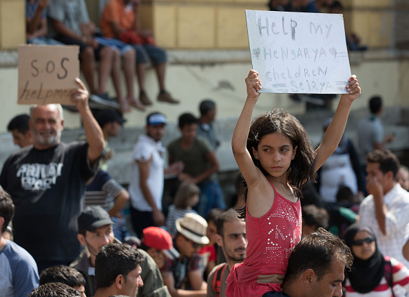 Syrian Civil War Refugee Crisis「Migrant Route Is Blocked In Hungary」:写真・画像(8)[壁紙.com]