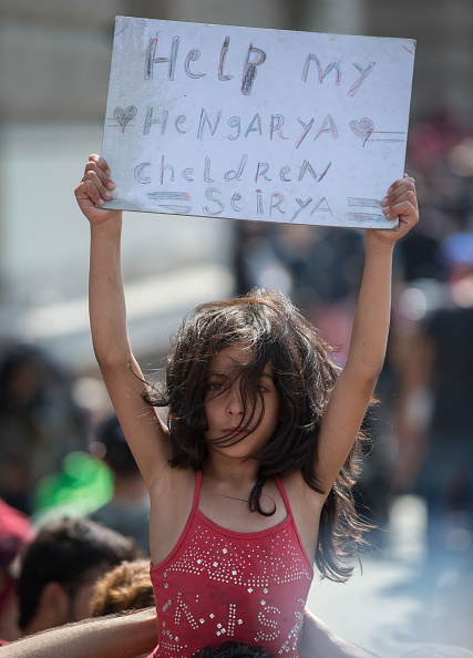 Syrian Civil War Refugee Crisis「Migrant Route Is Blocked In Hungary」:写真・画像(9)[壁紙.com]
