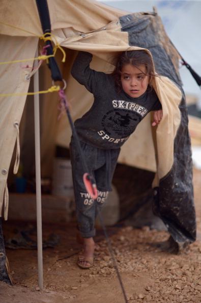 Jordan - Middle East「Syrian Refugee Children Living In The Za'atari Camp」:写真・画像(6)[壁紙.com]
