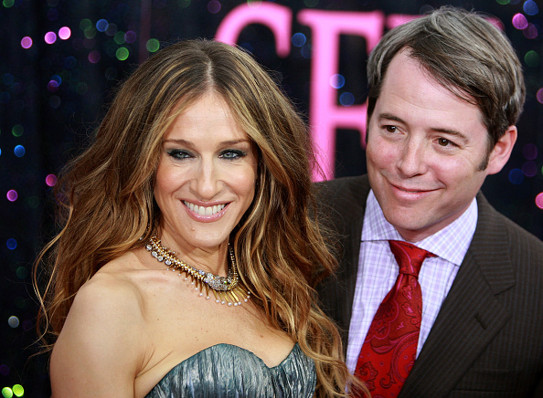 "Sarah Jessica Parker「New Line Cinema Premieres ""Sex and the City: The Movie"" - Inside Arrivals」:写真・画像(14)[壁紙.com]"