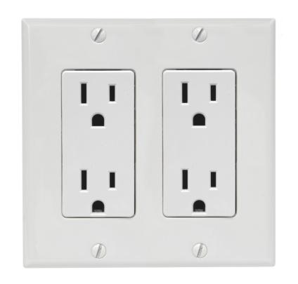 Three Pin Plug「Receptacle (Decorator) - Double」:スマホ壁紙(17)
