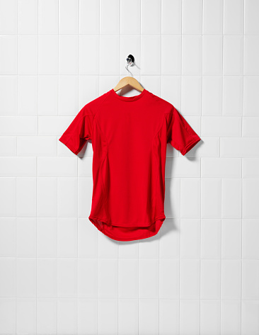 Soccer Uniform「Red Football Shirt」:スマホ壁紙(1)