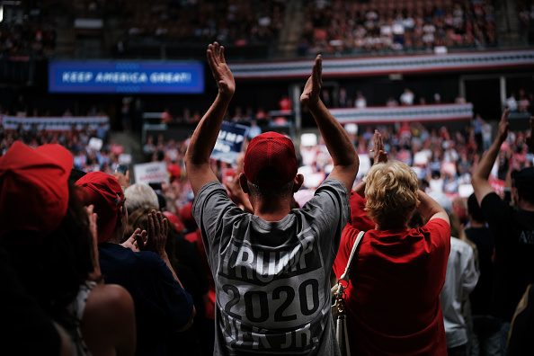 MAGA「Donald Trump Holds MAGA Campaign Rally In New Hampshire」:写真・画像(16)[壁紙.com]