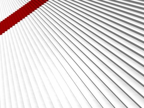 Digitally Generated Image「Red carpet」:スマホ壁紙(19)