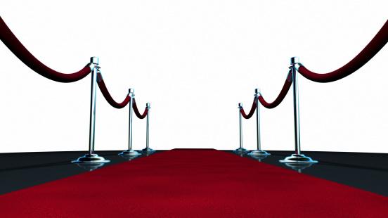 Roped Off「Red Carpet On White」:スマホ壁紙(19)