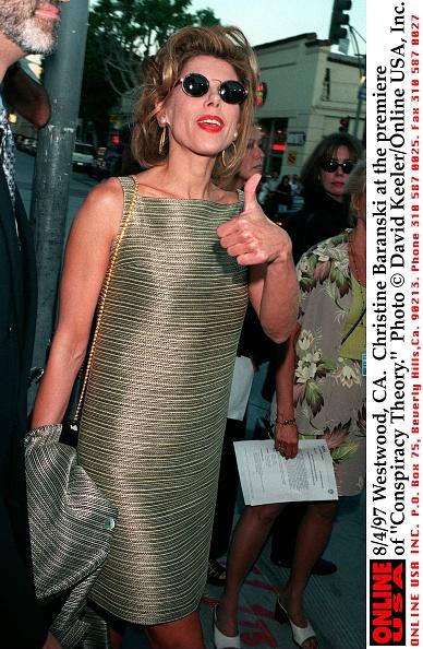 "David Keeler「8/4/97 Westwood,CA. Christine Baranski at the premiere of ""Conspiracy Theory.""」:写真・画像(10)[壁紙.com]"