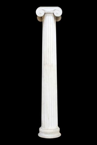 Greek Culture「Column on black」:スマホ壁紙(8)