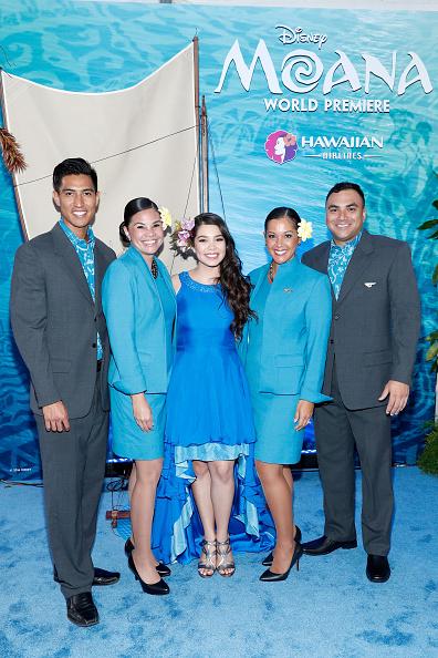 """El Capitan Theatre「Hawaiian Airlines At The World Premiere Of Disney's """"Moana""""」:写真・画像(18)[壁紙.com]"""