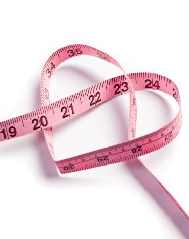 Sewing「Heart measuring tape」:スマホ壁紙(4)