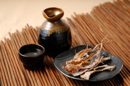 Saki「Shochu and dried squid」:スマホ壁紙(7)