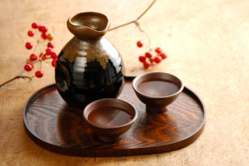 Sake「Shochu and smilax china」:スマホ壁紙(2)