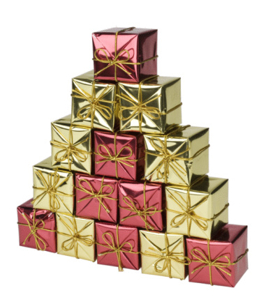 Gift「Pyramid of gift boxes」:スマホ壁紙(3)