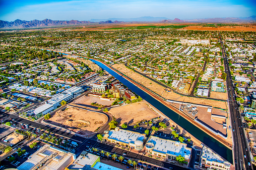 Canal「Phoenix Water Supply Desert Canal」:スマホ壁紙(19)