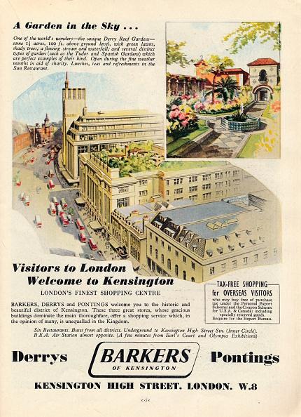 Roof Garden「Advert for Barkers of Kensington, 1951.」:写真・画像(11)[壁紙.com]