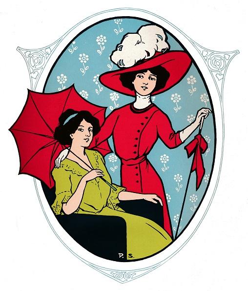 Umbrella「Advert For Kast & Ehinger G M B H, Stuttgart, 1917」:写真・画像(6)[壁紙.com]