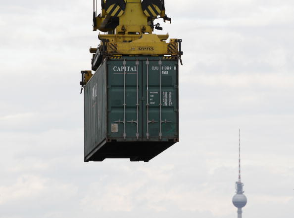 Cargo Container「Berlin Container Harbour Is The Hub To East Europe」:写真・画像(9)[壁紙.com]
