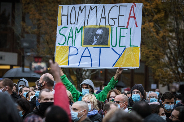 France「France Mourns Decapitated Teacher」:写真・画像(13)[壁紙.com]