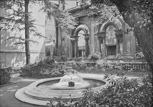 Arch - Architectural Feature「Bank of England Fountain, City of London, c1910 (1911)」:写真・画像(18)[壁紙.com]