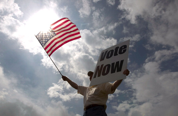 アメリカ合衆国「Voters Head To The Polls In Alabama's Republican Primary」:写真・画像(10)[壁紙.com]