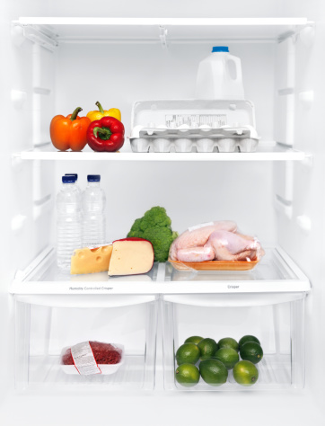 Chicken Meat「Fridge interior with food」:スマホ壁紙(12)