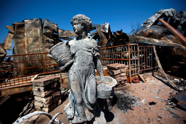 Construction Material「Wildfires Continue To Burn In Texas」:写真・画像(5)[壁紙.com]