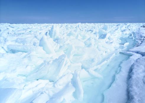 流氷「Drift ice」:スマホ壁紙(4)