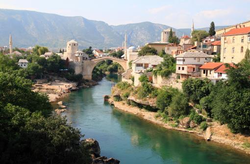 Footbridge「Old Bridge in Mostar」:スマホ壁紙(14)