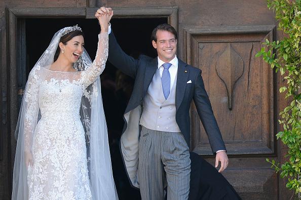 Elie Saab - Designer Label「Religious Wedding Of Prince Felix Of Luxembourg & Claire Lademacher」:写真・画像(10)[壁紙.com]