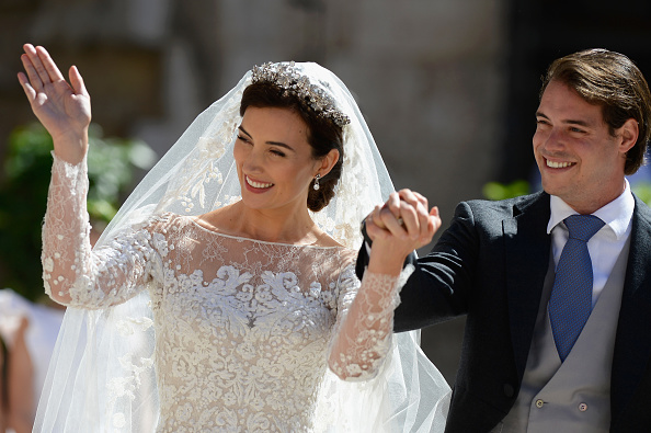 Elie Saab - Designer Label「Religious Wedding Of Prince Felix Of Luxembourg & Claire Lademacher」:写真・画像(16)[壁紙.com]