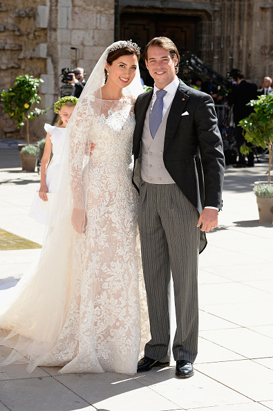 Wedding Dress「Religious Wedding Of Prince Felix Of Luxembourg & Claire Lademacher」:写真・画像(8)[壁紙.com]
