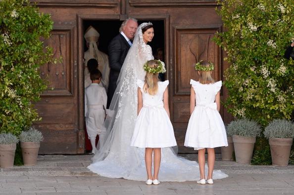 Elie Saab - Designer Label「Religious Wedding Of Prince Felix Of Luxembourg & Claire Lademacher」:写真・画像(11)[壁紙.com]