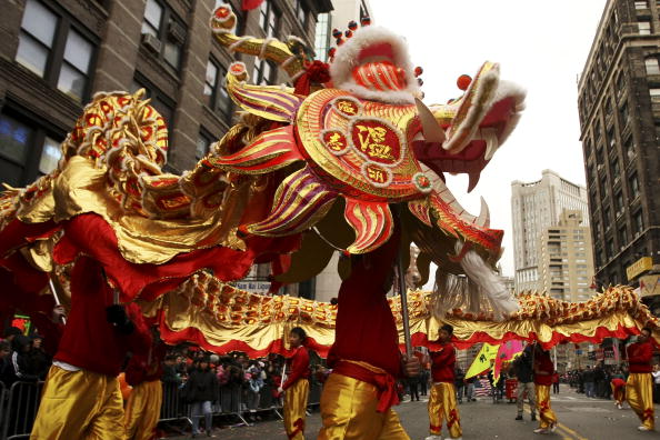 Chinese Culture「New York's Chinatown Hosts Annual Lunar New Year Parade」:写真・画像(3)[壁紙.com]