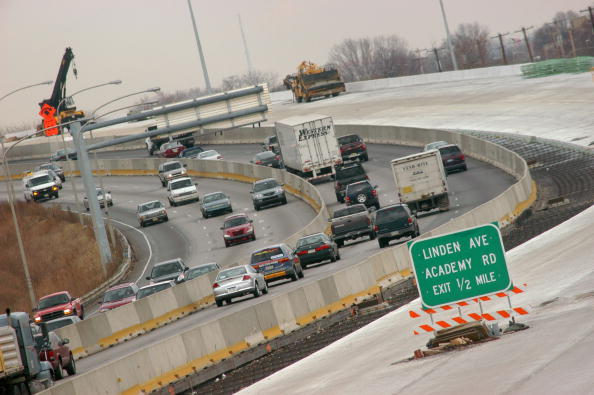 Philadelphia - Pennsylvania「Major Highway Re-construction Continues On Interstate 95 In Philadelphia」:写真・画像(3)[壁紙.com]