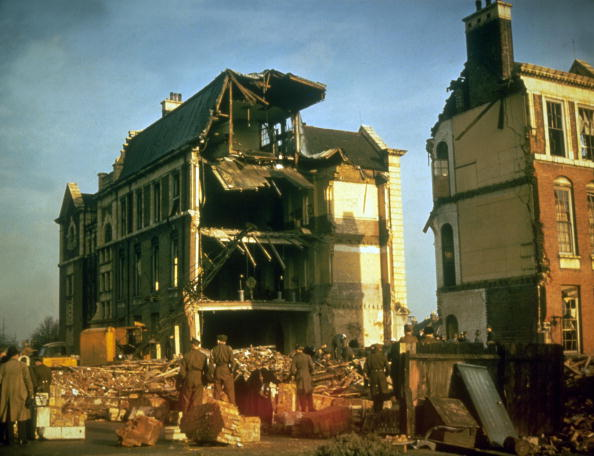 Damaged「Bombed Houses」:写真・画像(17)[壁紙.com]
