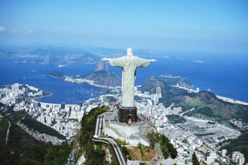 Religion「Brazil, Rio de Janeiro, Cristo Redentor on  Corcovado」:スマホ壁紙(18)